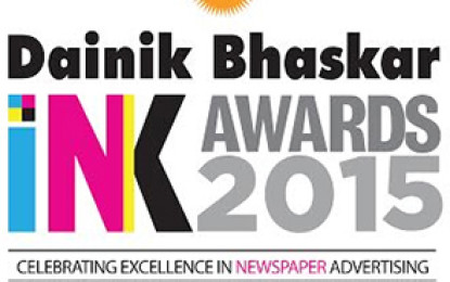 Times of India wins seven awards at Dainik Bhaskar INK Awards 2015