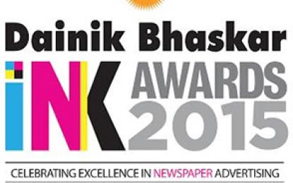 Times of India wins seven awards at Dainik Bhaskar INK Awards 2015