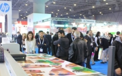 Online visitor registration available for FESPA Eurasia 2015