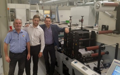 It's third MPS Press at GM Graphix and first in SA to use LED UV drying