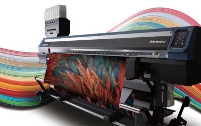 Mimaki presents Entry-level direct textile Inkjet printer Tx300P-1800