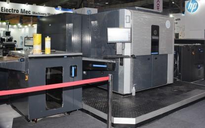HP Indigo 10000 B2 Digital Press has first show in India