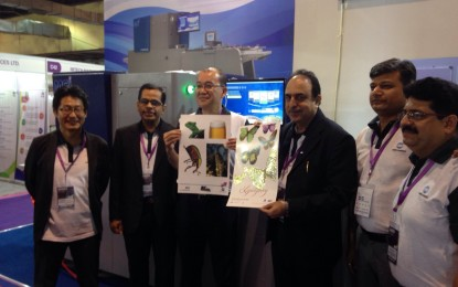 Konica Minolta unveils MGI JETvarnish 3DS with iFOIL at PAMEX 2015