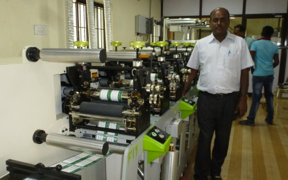 Sree Labeltech installs India's first 6-colour Etirama