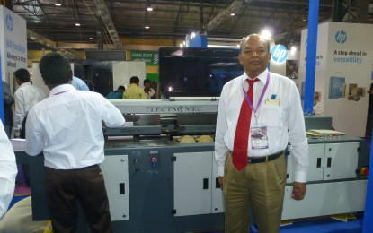 Electro Mec Machinery Manufacturers demonstrates Six-clamp Machine