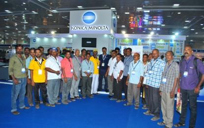 Konica Minolta launches Bizhub Pro 1100 in N Printech & N Packtech
