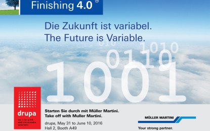 Variable products call for highly variable and modular Print Finishing Systems