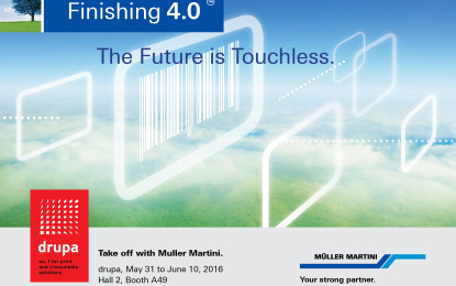 Muller Martini presents Touchless Workflow at drupa