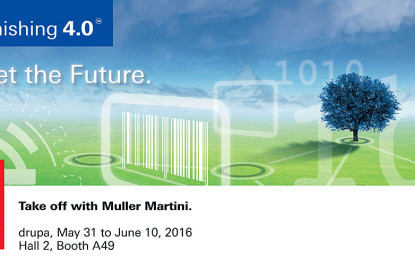 Finishing 4.0: Muller Martini interconnects all process steps in Print Finishing