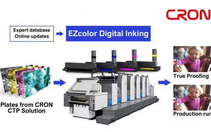 CRON EZcolor makes short-run offset easier profitable