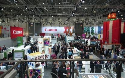 Canon pushes the boundaries of digital print