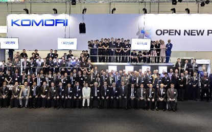 "Komori with its ""Open New Pages"" theme has a successful drupa"