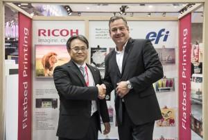 ricoh efi partnership