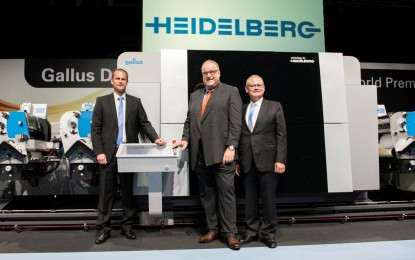 Heidelberg unveils new digital press for the growing label market