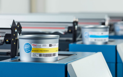KBA and Flint seal cooperation on conventional inks