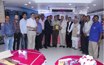 GDMPA felicitates AIFMP new team
