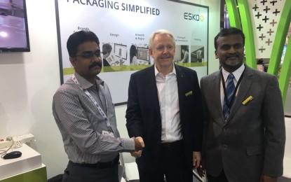 Sai Enterprises signs for second Esko CDI 4835 at LabelExpo