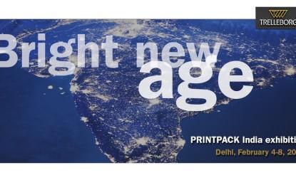 Trelleborg at Printpack India