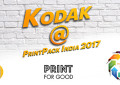 Kodak at PrintPack India 2017
