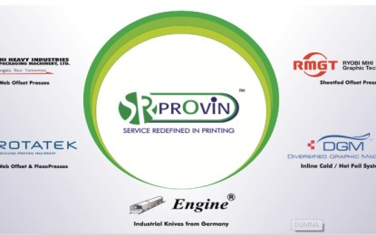 Provin Technos at PrintPack India 2017