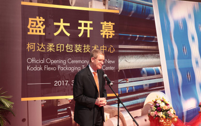 Kodak opens new Flexo Packaging Technology Center in Shanghai