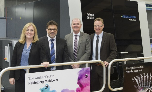 Heidelberg Primefire 106 all set to expand colordruck's new Packaging Digital division