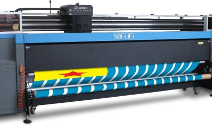 ColorJet shows soft signage product line at FESPA