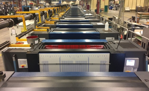 Heidelberg installs world first 18-unit Speedmaster XL 106