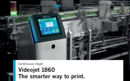 Videojet redefines the future of Continuous Inkjet Technology