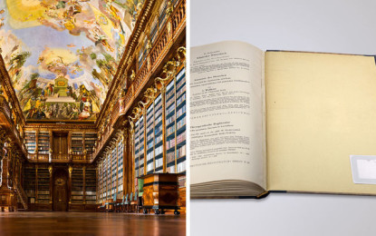 Efficient Management of collections in Archives: RFID solution from Schreiner PrinTrust for Precious Books