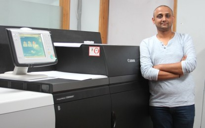 India's first Canon imagePRESS C8000VP complements the 'Mix & Match' expertise of  Avantika