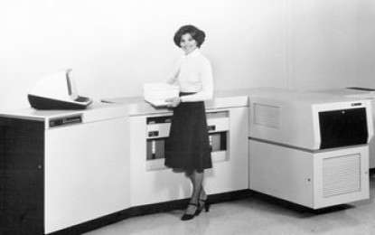 Xerox celebrates an innovation that transformed business communications