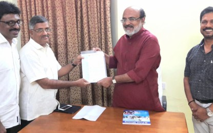 KMPA submits memorandum on GST to Minister of Finance