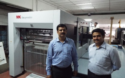 Vijayawada's JC Graphics installs MK Easymatrix 106CS Die-Cutter from Heidelberg
