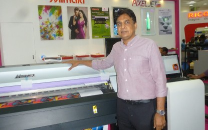 Monotech highlights recently launched Mimaki Latex Printer