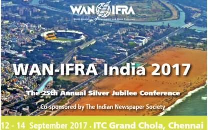 WAN-IFRA India 2017