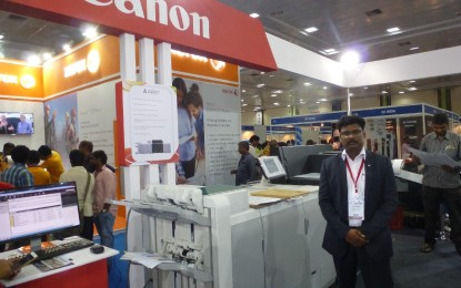 Canon present ImagePRO 8000 at Print Expo
