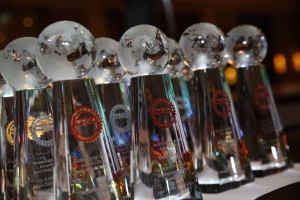 south asian digital media awards trophy