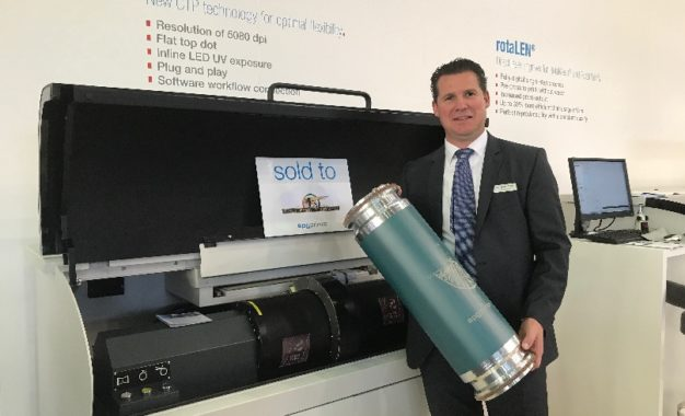 SPGPrints at Labelexpo Europe 2017