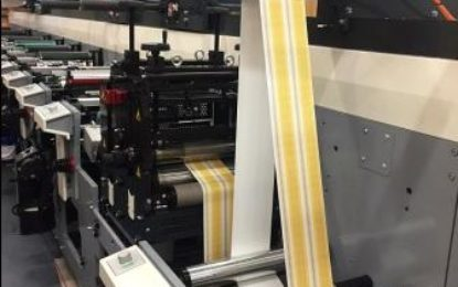 Second MPS flexo press for Abbey Labels