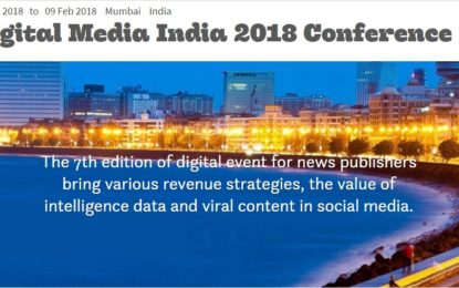 Digital Media India 2018 Conference