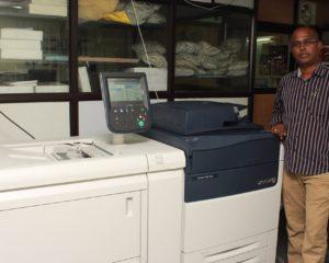 Speed Xerox installs Xerox Versant 180