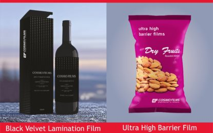 SIES SOP & IFCA Star Awards for Cosmo Films products