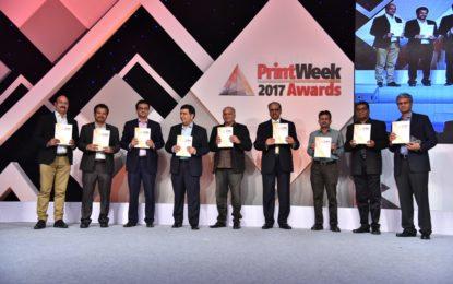 PrintWeek India Awards 2017