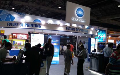 Konica Minolta steals the show at PAMEX 2017