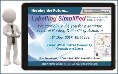 VINSAK Seminar on Labelling Simplified