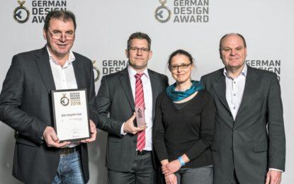 Rapida LiveApp gets awarded at the German Design Award 2018
