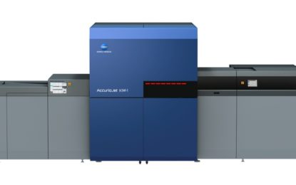 Reinventing Production Inkjet with the AccurioJet KM-1