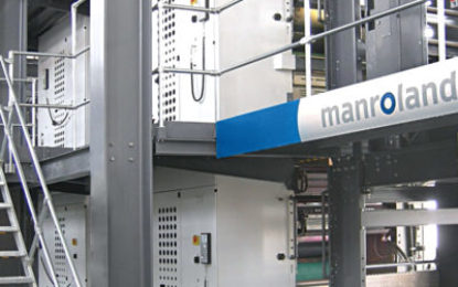 Major newspaper order for manroland web systems