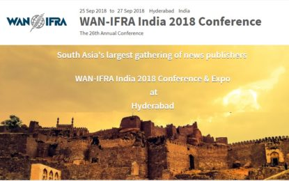 WAN-IFRA India returns to Hyderabad after 14 years